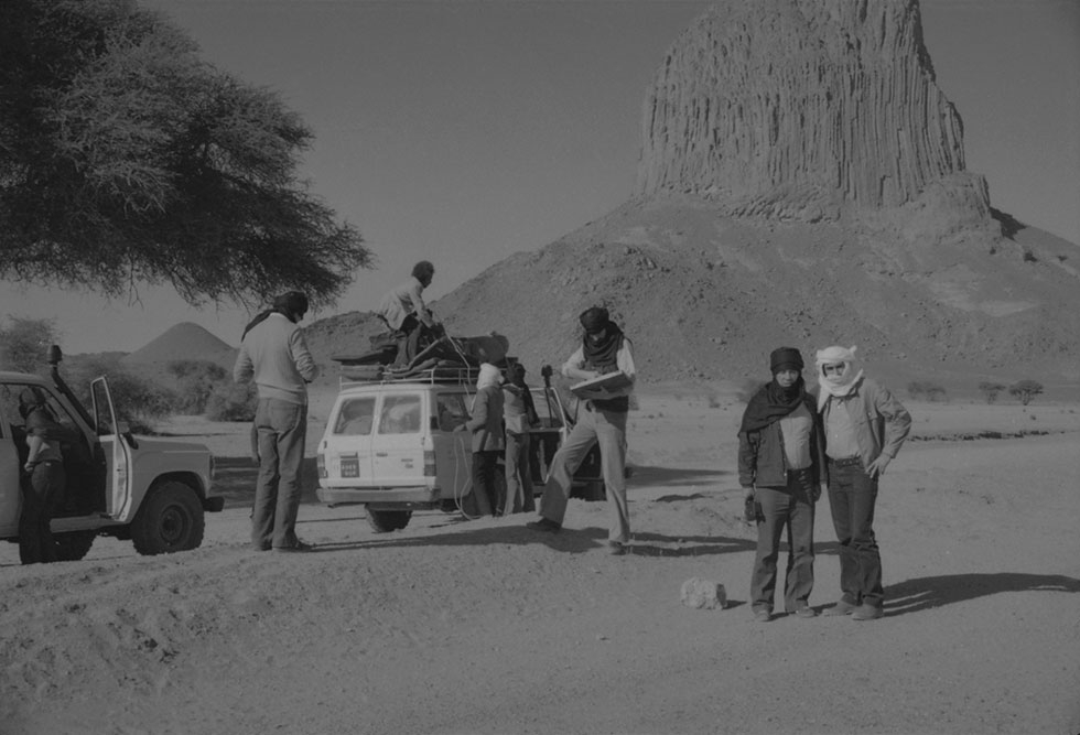 Photo Georges Guinot, Hoggar 1981