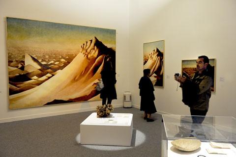 Exposition mondes Touaregs Georges Guinot Edmond Bernus, Musée de Cahors Henri-Martin, 2014.