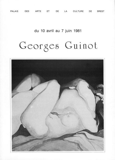 Dépliant exposition Palais des Arts et de la Culture de Brest 1981