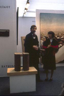 Photo exposition Voyage au Hoggar Galerie Michèle Broutta, FIAC 1984, Le Grand-Palais, Paris