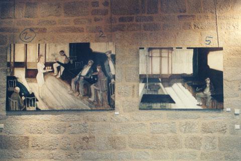 Exposition Rêverie d'ailleurs, festival de Sédières, 1999.