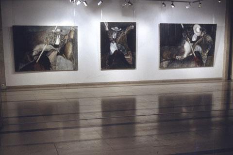 Exposition Toros, galerie Bernanos, Paris, 1997