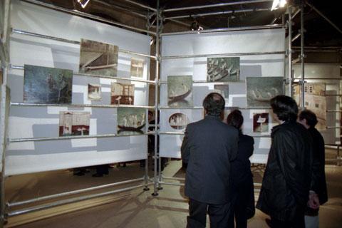 Exposition Venise, Abbaye de Port-Royal, hôpital Cochin, Paris,1994.