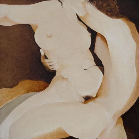 Couple II, 1981, 100x100 cm.